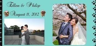 August 11, 2012 Ellen & Philip